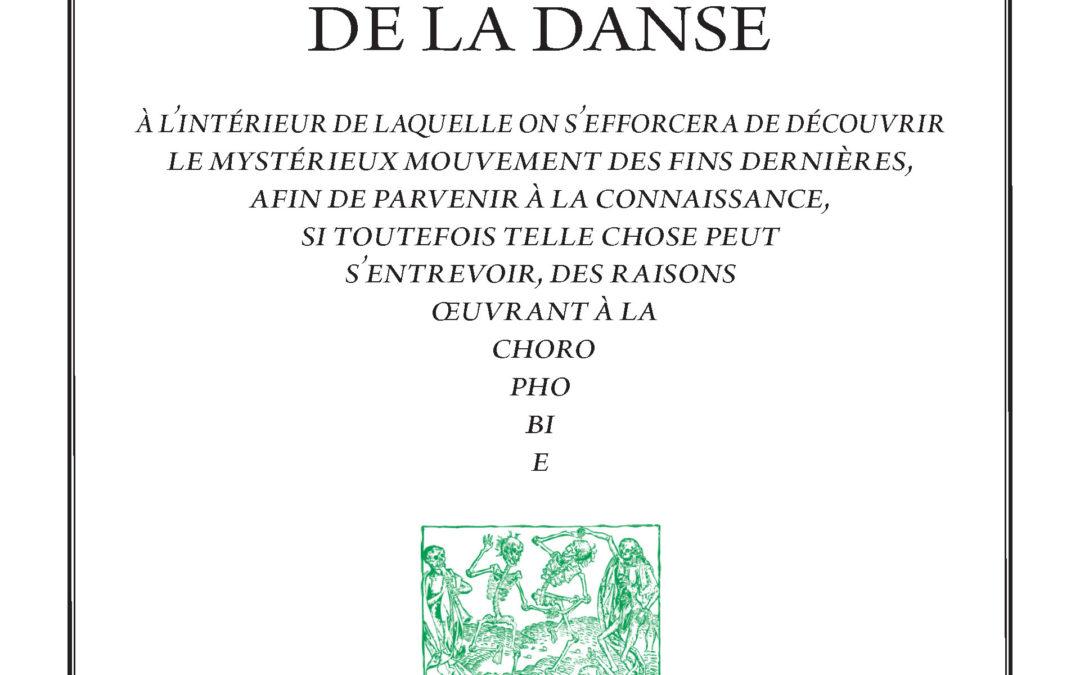 Histoire spirituelle de la danse