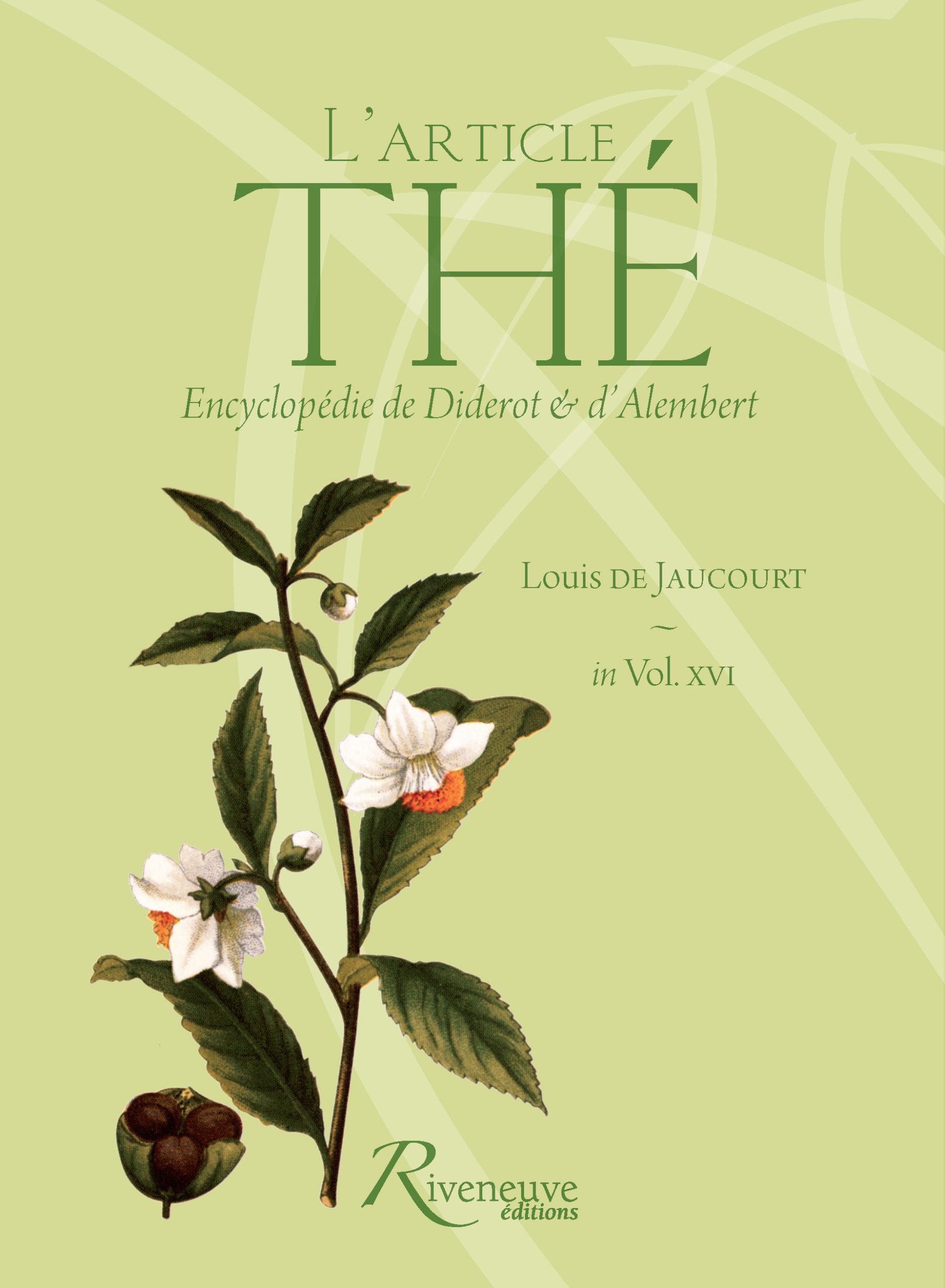 L'article « Thé »