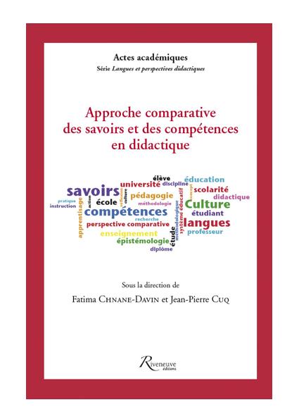 Approche comparative des savoirs et des compétences en didactique