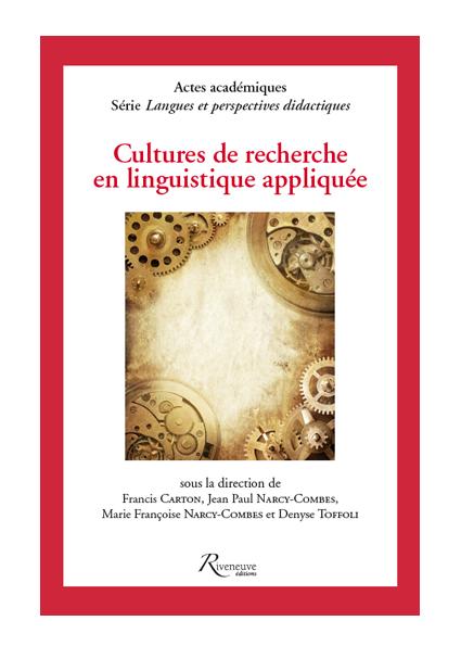 Cultures de recherche en linguistique appliquée