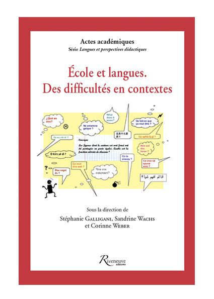 École et langues – Des difficultés en contextes