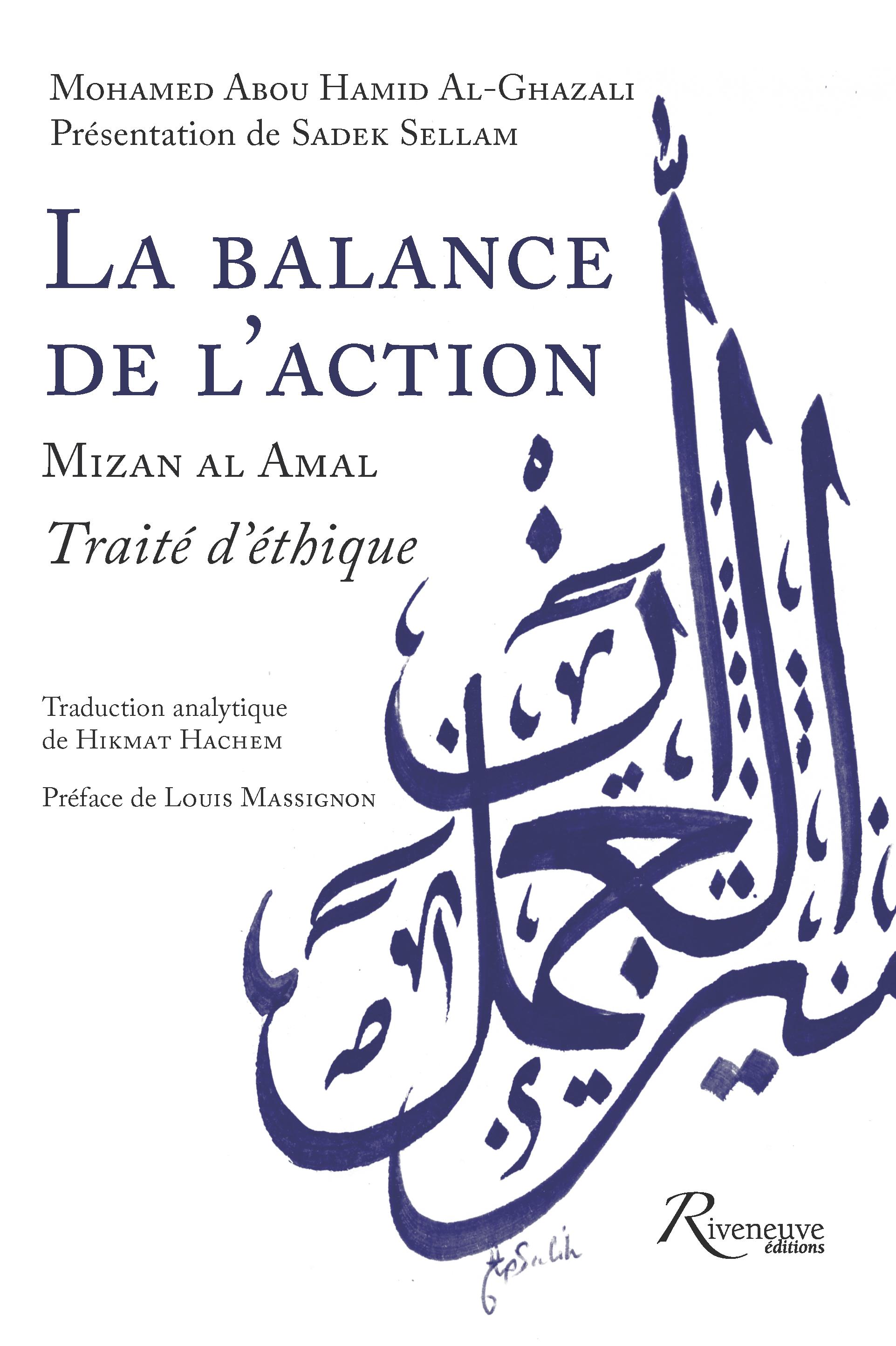 La balance de l'action