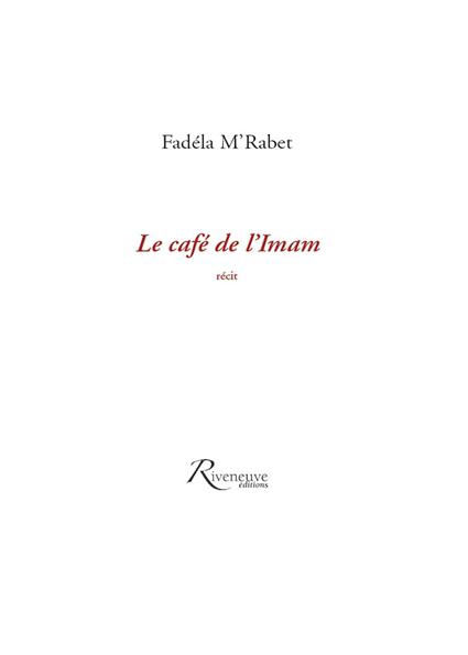 Le café de l'imam