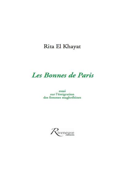 Les Bonnes de Paris