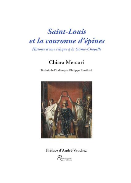 Saint Louis et la couronne d'épine.