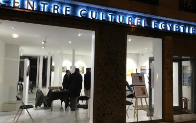Riveneuve au Centre culturel Égyptien