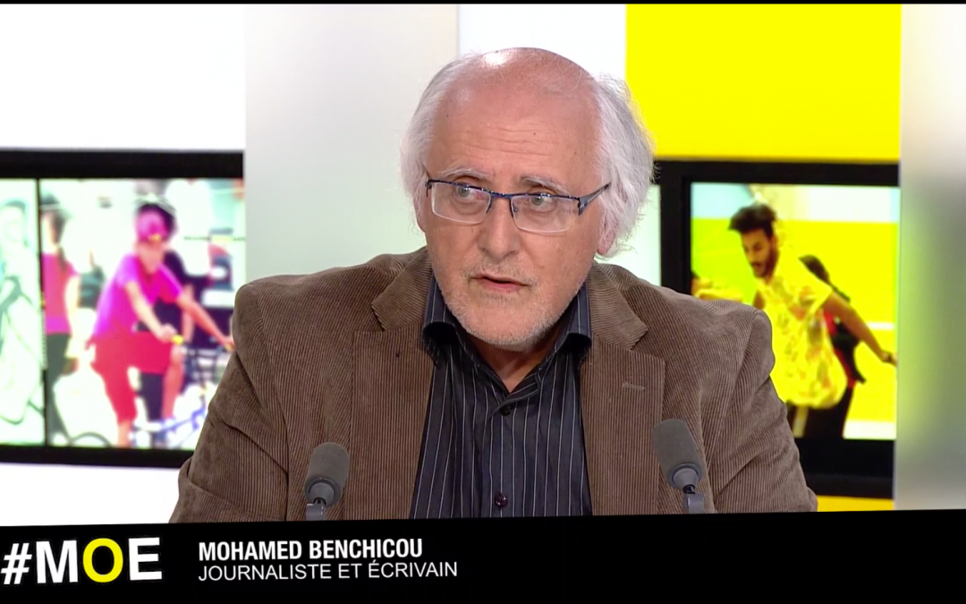 Mohamed Benchicou dans l'émission MOE, TV5Monde