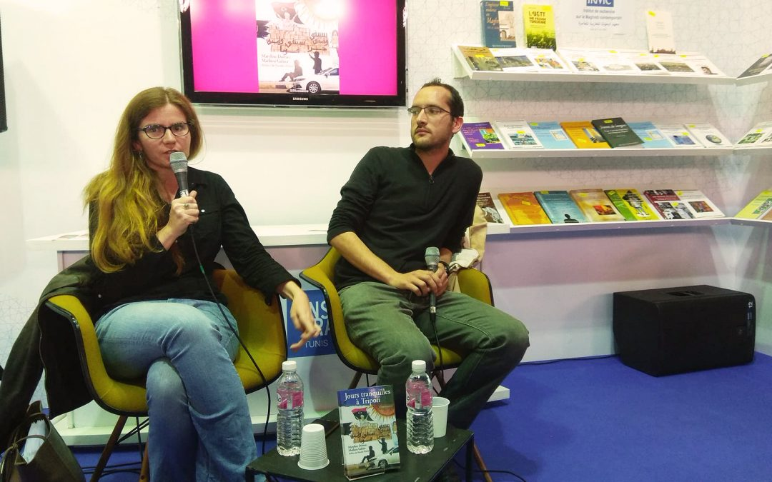 Les auteurs de «Jours tranquilles à Tripoli» à la Foire Internationale du Livre de Tunis (FILT)