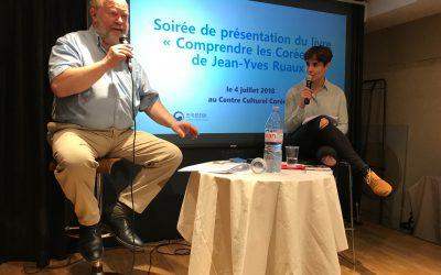 Jean-Yves Ruaux présente «Comprendre les Coréens» au Centre Culturel Coréen