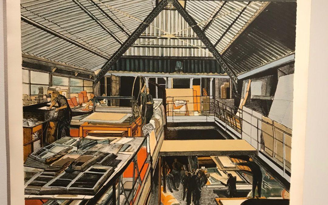 Derniers jours de l'expo litho de Jean-Michel Machet