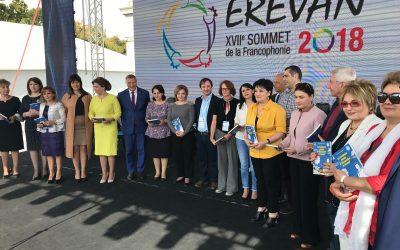 Riveneuve à Erevan : ouverture officielle du village de la francophonie