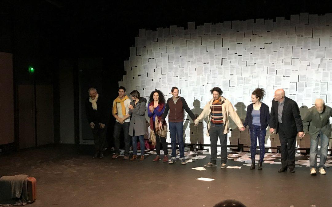 Première de « Jours tranquilles à Jérusalem » au théâtre d'Ivry