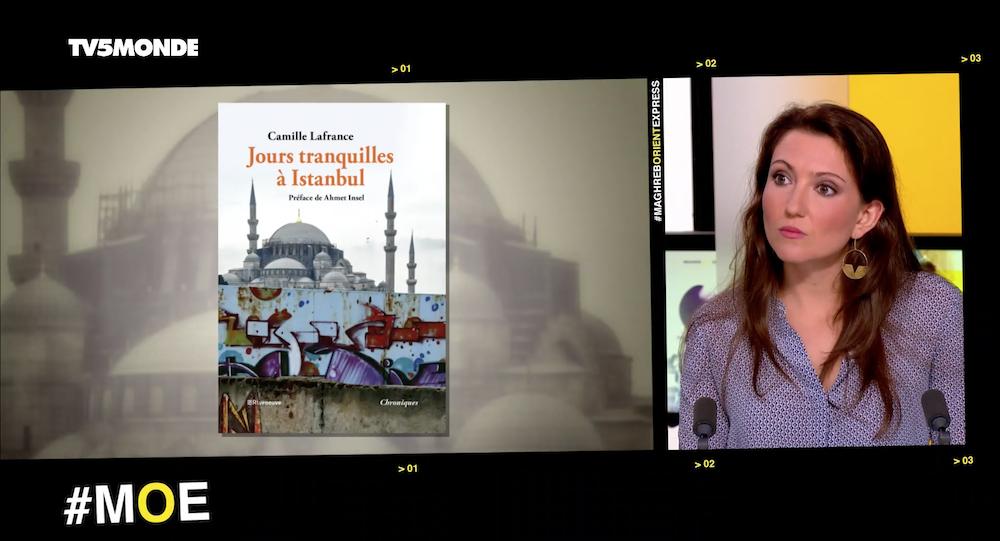 Camille Lafrance sur TV5MONDE
