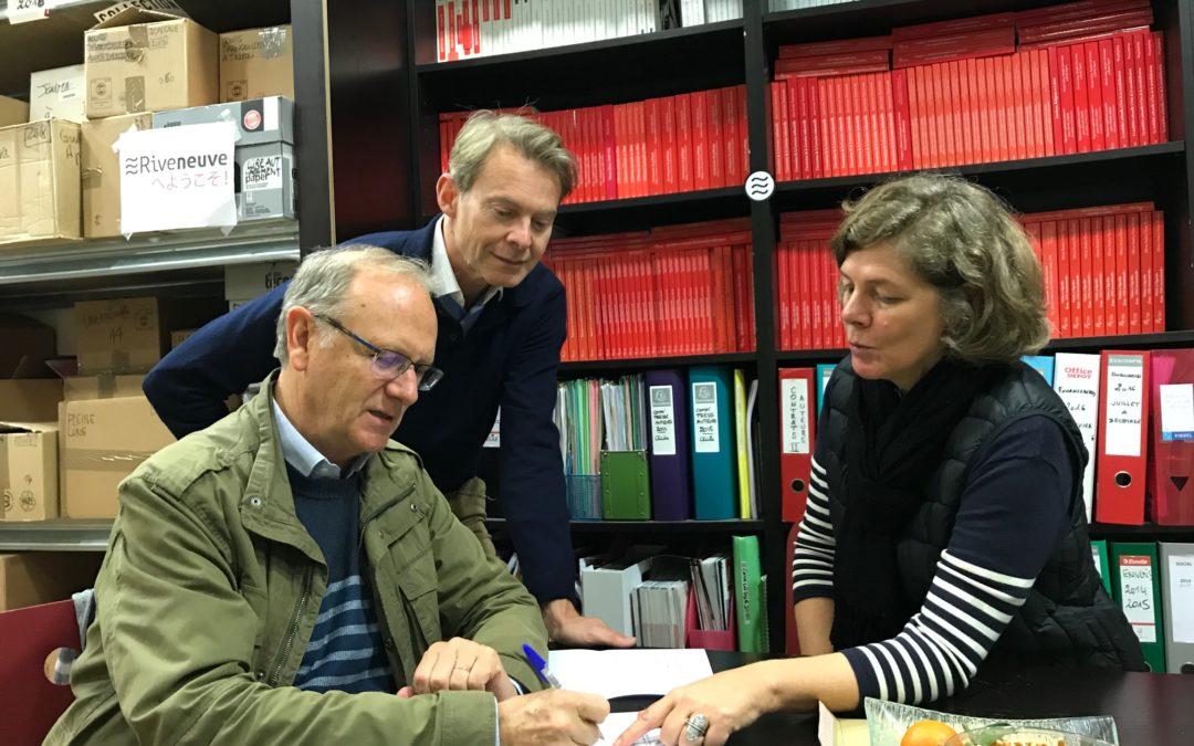 Riveneuve sous contrat avec l'agence Astier-Pécheur