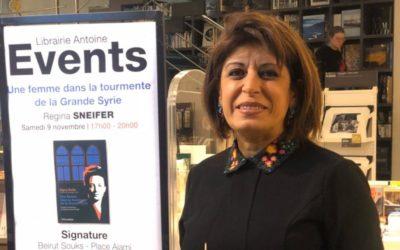 «Une femme dans la tourmente de la Grande Syrie» à Beyrouth