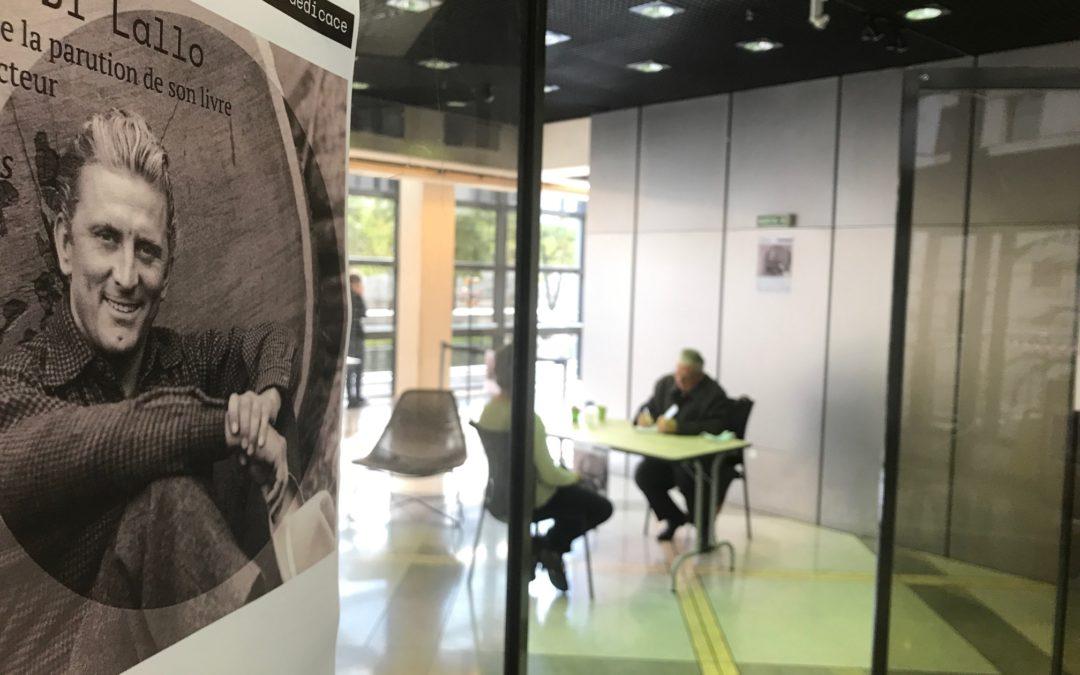 """""""Kirk Douglas"""" et Georges Di Lallo au Ministère des finances"""