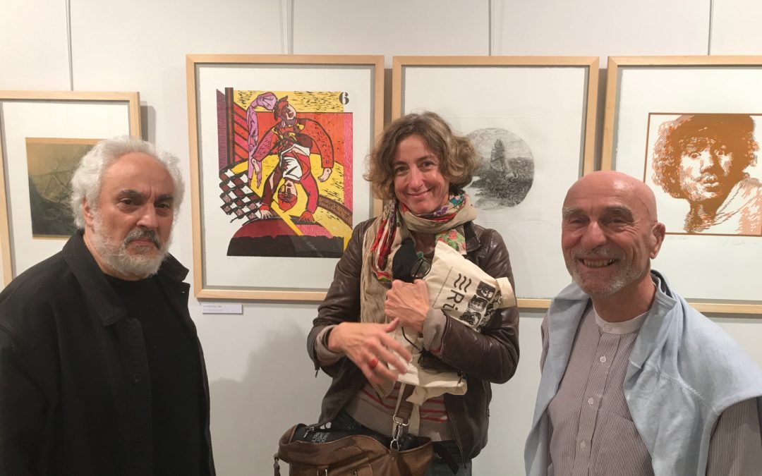 """Riveneuve participe à l'exposition """"50 ans d'estampe – Jubilé de La Gravure Originale 1970-2020"""" à la Fondation Taylor"""