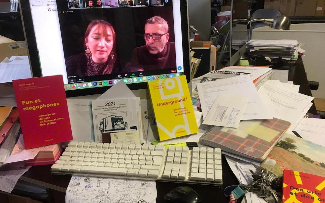 Nos auteurs ont du talent (5) : Un colloque mondial sur le punk s'est ouvert avec PIND
