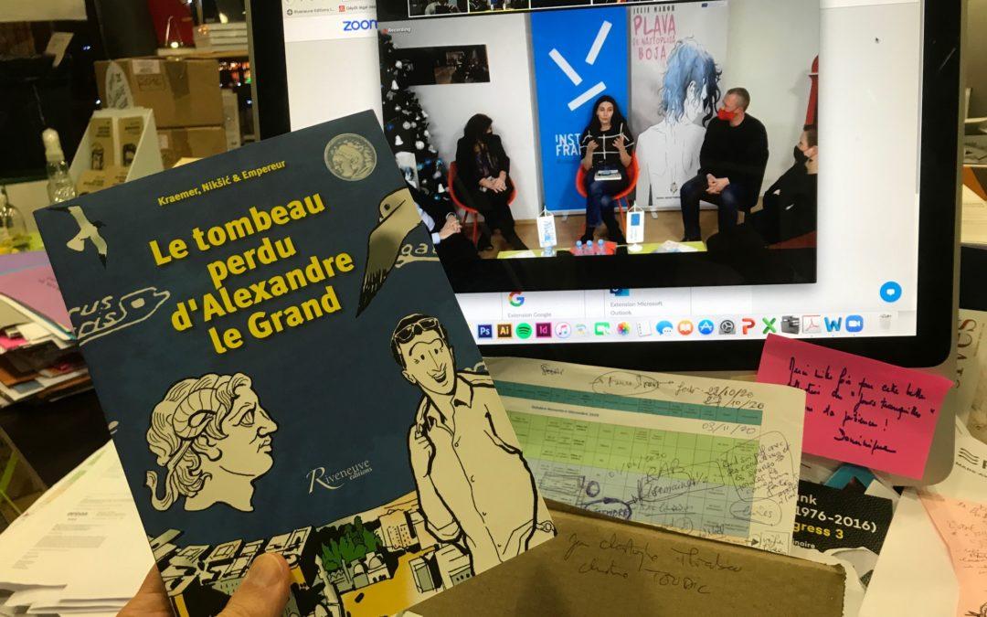 Nos auteurs ont du talent 9 : une nouvelle BD traduite à Sarajevo