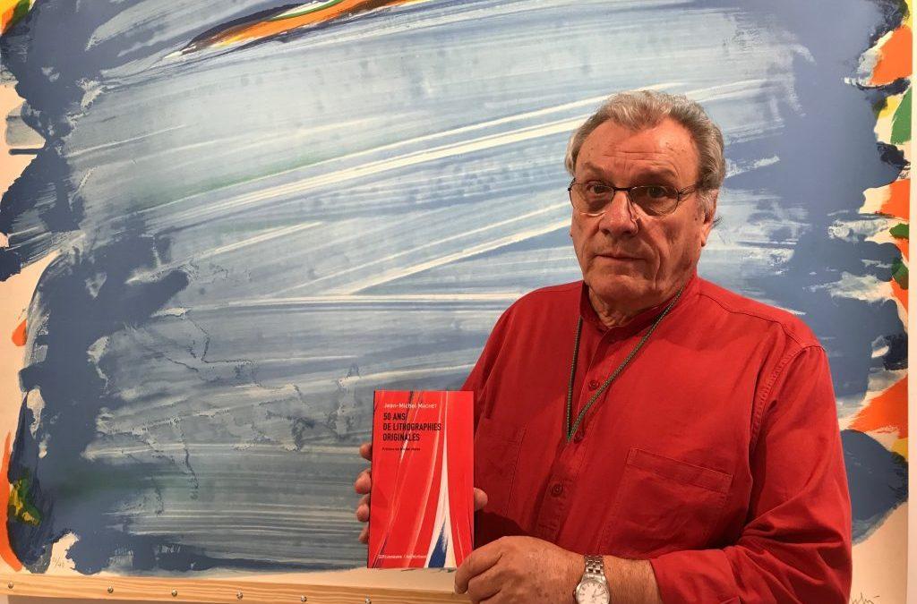 Nos auteurs ont du talent (13) : le lithographe Jean-Michel Machet reçoit un Prix Senefelder 2020