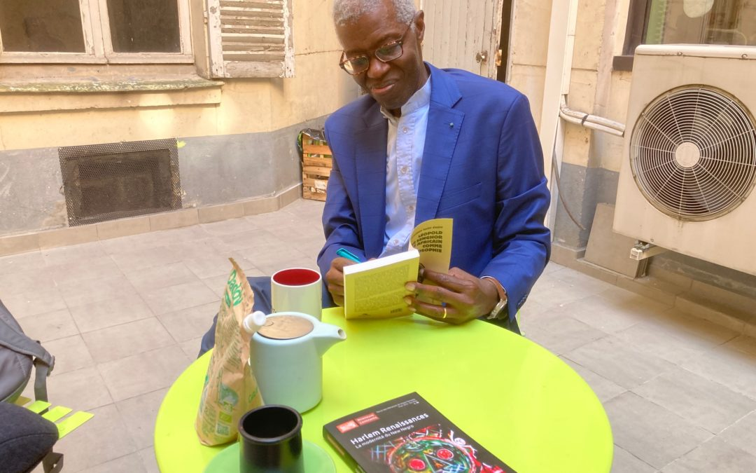 Souleymane Bachir Diagne visite Riveneuve
